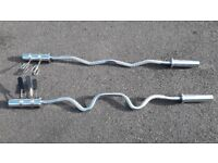 OLYMPIC EZ WEIGHTS BAR OR TRI CURL BARBELL