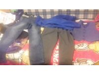Bundle of clothes age 10 to 11 years