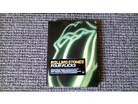 The Rolling Stones - 4 Flicks DVD