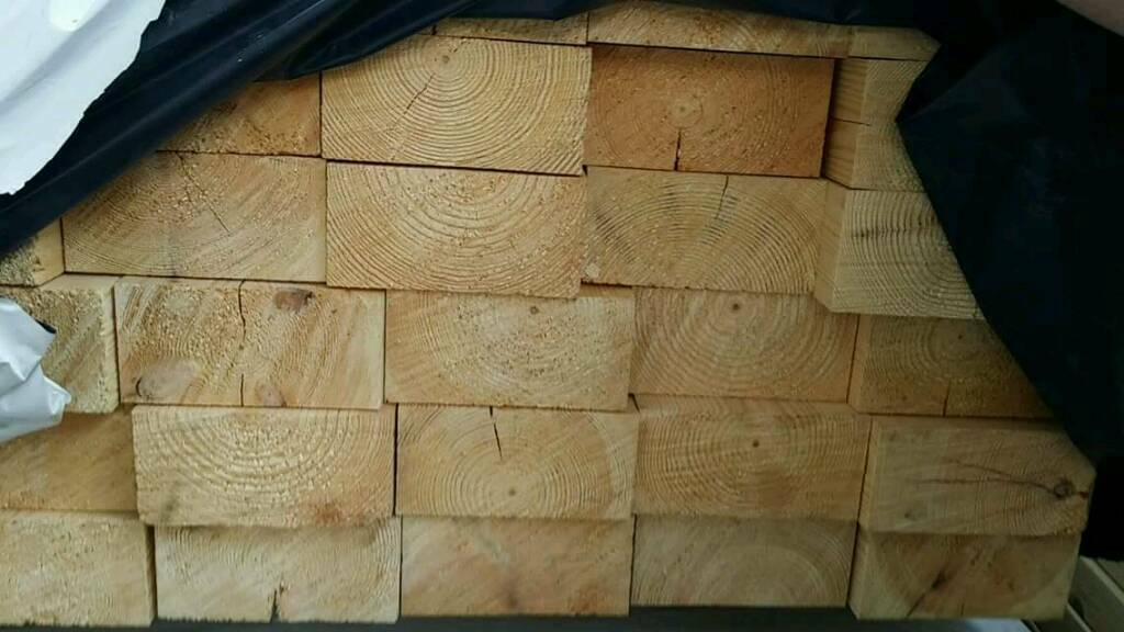 6 x 3 (70mm x 145mm) Planed Timber 2.4mtr Lengths