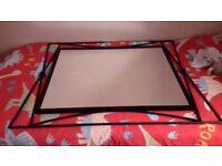 Black framed Mirror