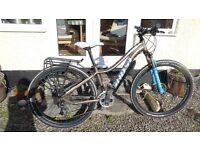 Ladies Ghost Lanao 4 Hardtail Mountain Bike (2015) size small with 27.5 inch wheels. As new.