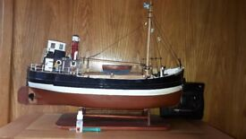 Clyde Puffer Radio controlled model boat