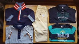 TIMBERLAND DESIGNER BOYS CLOTHES AGE 5 ***IMMACULATE CONDITION***