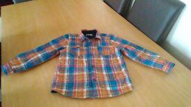 Marks and Spenser Boys Winter Shirt