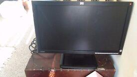 HP 18.5 inch PC monitor.