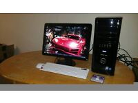 """FAST Dell XPS 430 MINECRAFT Quad Core Gaming Desktop Computer PC With Dell 21"""""""