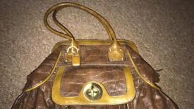 Clark's Leather Handbag Brand New