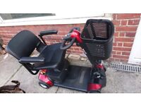 Mobility scooter. Excellent condition, 3 months light use, portable can travel in car boot,