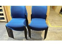 stacking office chairs for boardroom or office reception