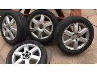2 set or Ford Focus alloys