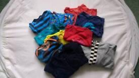 Bundle of preloved Scandi Baby clothes 68cm 5/6/7mth