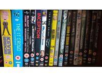 Dvd collection job lot