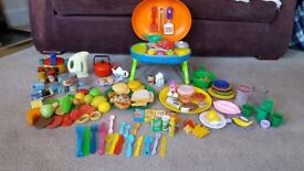 toy food and barbecue play set