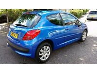 2008 Peugeot 207 1.4 m:play 3dr Cheap Insurance / Road Tax Group @07445775115