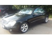 Mercedes CLK 2.6 CLK240 Avantgarde Coupe Petrol Automatic Well Looked After £1150 ono