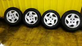 peugeot alloy wheels 14""