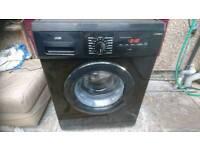 7 kg black logik washing machine