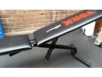 Weights bench - York.