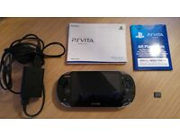 Sony PS Vita (wifi model) + 4gb memory card