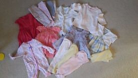 0 3 month baby girls 30+ item clothes - including brand new items
