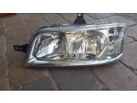 FIAT DUCATO 2002-2006 HEADLIGHT HEADLAMP LIGHT LAMP LEFT fits also peugeot boxer