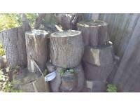 Logs for burner