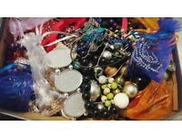 Box of Jewellery - Neckles, Braclet
