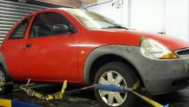 Ford ka spares parts breaking only. Will Not sell whole car.