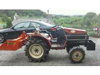 Yanmar 4 wheel drive compact tractor