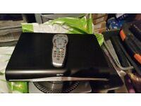 sky plus +HD box DRX890 500g hard drive hdmi sky+hd remote control Includes batteries