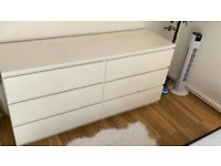 Ikea chests of 6 drawers