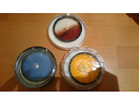 Camera filters 52mm, Hoya Blue, Orange, and Chromofilter T1