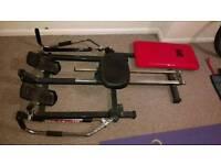 DP rowing machine bench press