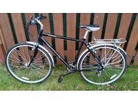 Gents city hybrid bike