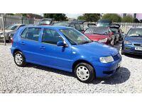 Volkswagen POLO 1390cc Petrol, Hatchback, Manual, Blue, Full Mot.