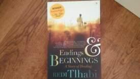 Brand New Endings & Beginnings - Redi Tlhabi paperback retail price 12.95