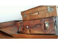 Leather vintage cases