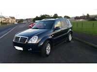 09Reg Ssangyong Rexton SPR 183BHP,Full Service History,2 Former Keepers,All-wheel-drive,52970 Miles