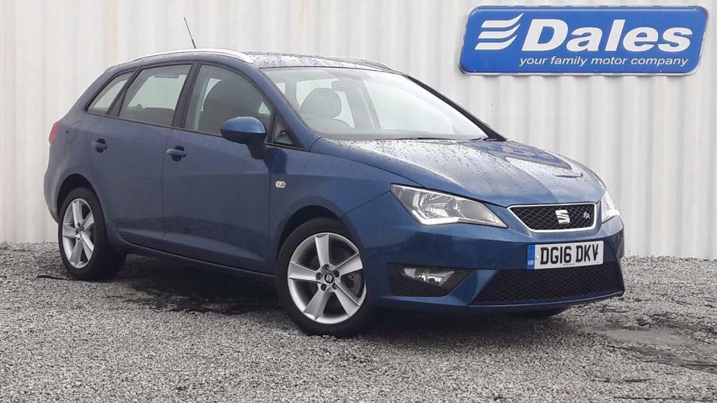 seat ibiza sport tourer 1 2 tsi fr apollo blue 2016 in redruth cornwall gumtree. Black Bedroom Furniture Sets. Home Design Ideas