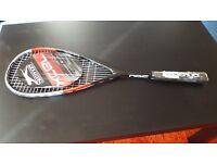 New unused squash racket Slazenger XCEL 360 RRP £29.99 black & red