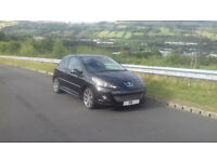Peugeot 207 gti turbo 2009 Needs new clutch SWAP for fiesta tdci (zetec s or st rep) or Try me??