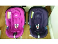 Mamas and Papas Aton car seat with iso fix Base