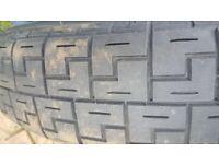 Jaguar spare wheel 5x108 17inch