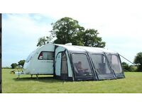 Outdoor Revolution 420 AirLite airbeam Caravan Awning Oxygen Compact 2016 Model Used Once RRP £999