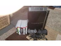 Sony PlayStation 3 and 9 games