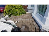 Block paving retro stone for sale