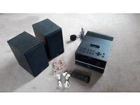 Sony CMT-BX77DBi Mini HiFi with DAB Radio & iPod dock - speakers included