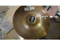 "Paiste Rude 10"" splash cymbal"
