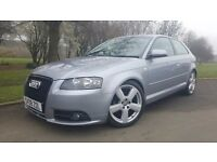 Audi A3 2.0 TDI S Line 3dr FULL LEATHER & FINANCE AVAILABLE